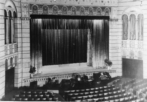 Bagdad Theater Stage 1920s 1930s