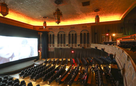 Photo From Inside The Best Movie Theater In Portland, OR   Bagdad Theater U0026  Pub